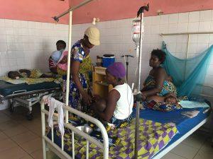 4 semaines de stage infirmier au benin a l'hopital