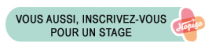 Bouton d'inscription pour un stage